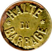 12½ Centimes Halte du Barrage E. Simon -  St Etienne [42] – obverse