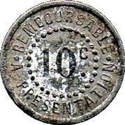 10 Centimes Réalmont 81 – reverse