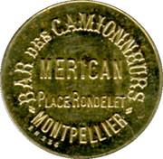 10 Centimes - Bar des Camionneurs Merican - Montpellier [34] – obverse