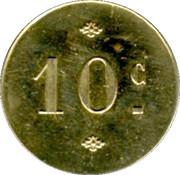 10 Centimes - Bar des Camionneurs Merican - Montpellier [34] – reverse