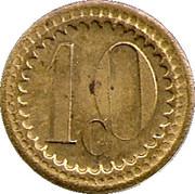 10 Centimes - Ala ville du Havre - Paris [75] – reverse