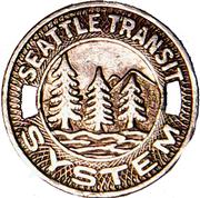 1 Fare - Seattle Transit System (Seattle, Washington) – obverse