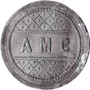 5 Centimes - AMC – obverse
