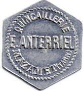 10 Centimes - Quincaillerie Anterrieu - Mazamet  Tarn (81) – obverse