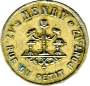 35 Centimes - Henry Chapelier - Paris [75] – obverse