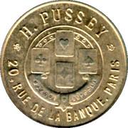 20 Centimes H. Pussey - Paris [75] – obverse