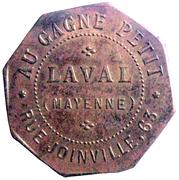 25 Centimes - Au Gagne Petit - Laval (53) – obverse