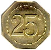 25 Centimes Au Printemps - Ch.Desplats -Castres [81] – reverse