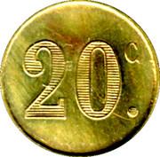 20 Centimes Dupont Jne - Paris [75] – reverse