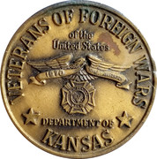 Token - Veterans of Foreign Wars – obverse
