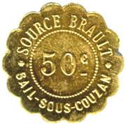 50 Centimes Source Brault - Sail-sous-Couzan [42] – obverse