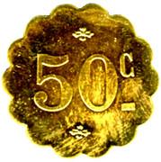 50 Centimes Source Brault - Sail-sous-Couzan [42] – reverse