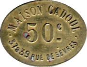 50 Centimes - Maison Cadoul - Paris [75] – obverse
