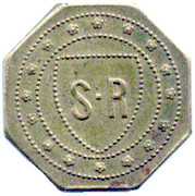 35 Centimes - S.R – obverse