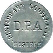 5 Centimes - Restautant Coopératif D.P.A Castres [81] – obverse