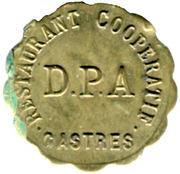 10 Centimes - Restautant Coopératif D.P.A Castres [81] – obverse