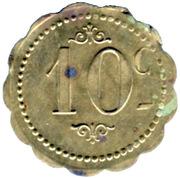 10 Centimes - Restautant Coopératif D.P.A Castres [81] – reverse