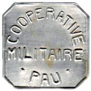 25 Centimes - Coopérative Militaire - Pau [64] – obverse