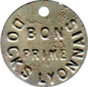 Bon Prime - Docks lyonnais - LYON [69] – reverse