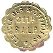1 Franc - Cercle des Sous officiers 311e RALP - Luçon [85] – obverse
