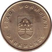 Parking Token - Stadt Dornbirn – obverse