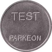 Parking Token - Test Parkeon (22.1 mm) – obverse