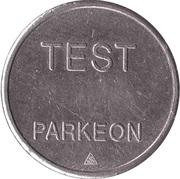 Parking Token - Test Parkeon (22.1 mm) – reverse