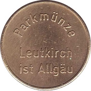 Parking Token - Leutkirch – obverse