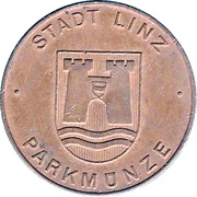 Parking Token - Linz (Bronze) – obverse