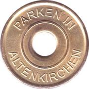 Parking Token - Altenkirchen – obverse
