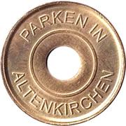 Parking Token - Altenkirchen – reverse
