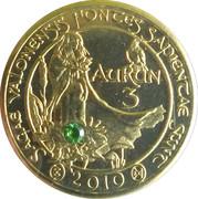 3 Aurun (with emerald) – reverse
