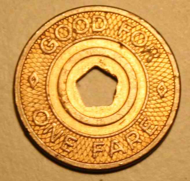 New york city transit coin value chart