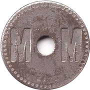 75 Centimes - A Consommer (M M) – obverse