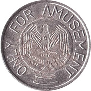 Game Token - Only For Amusement – obverse