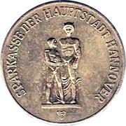 Token - Sparkasse Weltspartag 1964 (Hannover) – obverse