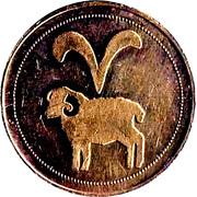 Token - Zodiac (Aries) – obverse