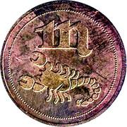Token - Zodiac (Scorpio) – obverse
