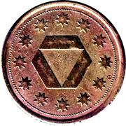 Token - Zodiac (Libra) – reverse