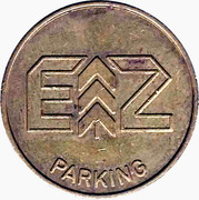 Parking Token - EZ Parking – obverse