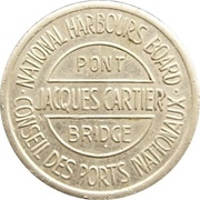 Token - Victoria and Jacques-Cartier Bridges – reverse