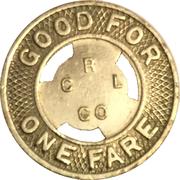 1 Fare - C R & L Lines (New Britain, CT) – reverse