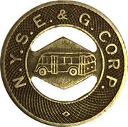1 Fare - N.Y.S.E. & G. Corp. (Elmira, NY) – obverse