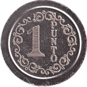 Wash Token - 1 Punto (type 1) – obverse