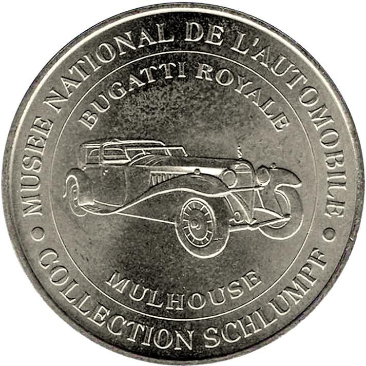 monnaie de paris mus e national de l 39 automobile limited edition tokens numista. Black Bedroom Furniture Sets. Home Design Ideas