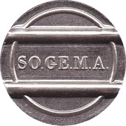 Token - SO.GE.M.A. – obverse
