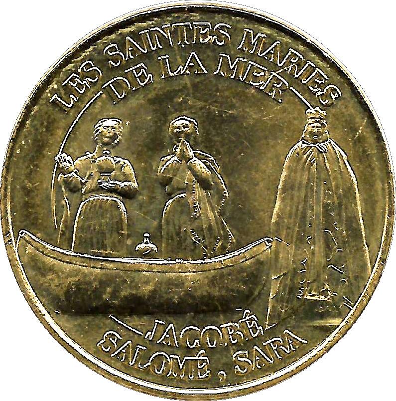 Monnaie de paris les saintes maries de la mer tokens - Office du tourisme saintes marie de la mer ...