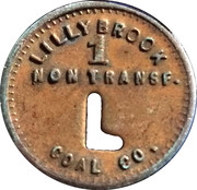 Lilly Brook Coal Co. – obverse