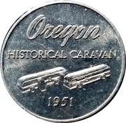 Token - Oregon Historical Caravan – obverse
