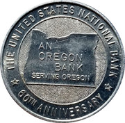 Token - Oregon Historical Caravan – reverse